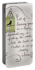 Becoming Yourself Portable Battery Charger