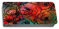 Bed Of Roses Portable Battery Charger