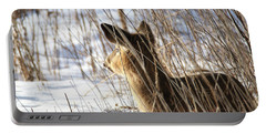 Bedded Fawn 2 Portable Battery Charger by Brook Burling