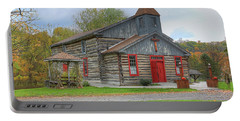 Bedford Village Church Portable Battery Charger by Sharon Batdorf