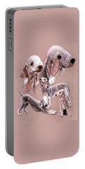 Bedlington Terrier Portable Battery Charger