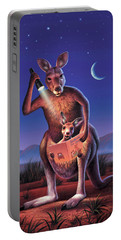 Bedtime For Joey Portable Battery Charger by Jerry LoFaro