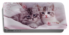 Bedtime Kitties Portable Battery Charger