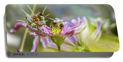 Bee Above Yellow.... Portable Battery Charger