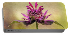 Bee Balm With A Vintage Touch Portable Battery Charger