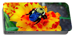 Bee Happy   Portable Battery Charger