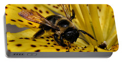 Bee On A Lily Portable Battery Charger