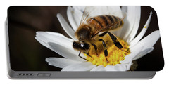 Bee On The Flower Portable Battery Charger