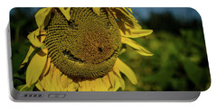 Bee Smiling Sunflowers Portable Battery Charger