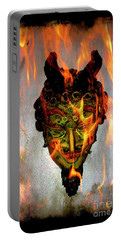 Portable Battery Charger featuring the photograph Beelzebub Iv by Al Bourassa