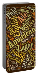 Beer Lover Cell Case Portable Battery Charger by Edward Fielding