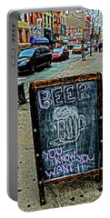 Beer Sign Portable Battery Charger