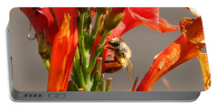 Day In A Life Of A Bee Portable Battery Charger