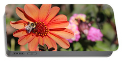 Bees-y Day Portable Battery Charger by Jason Nicholas