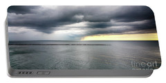 Portable Battery Charger featuring the photograph Before The Storm by Ricky L Jones