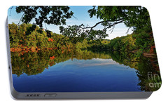 Portable Battery Charger featuring the photograph Beginning To Look Like Fall by Paul Mashburn