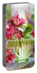Begonia Art Portable Battery Charger