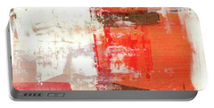 Behind The Corner - Warm Linear Abstract Painting Portable Battery Charger