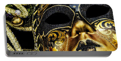 Portable Battery Charger featuring the photograph Behind The Mask by Carolyn Marshall