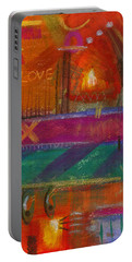 Being In Love Portable Battery Charger by Angela L Walker