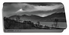 Beinn Na Cro And Loch Slapin, Isle Of Skye Portable Battery Charger