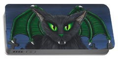 Bela Vampire Cat Portable Battery Charger