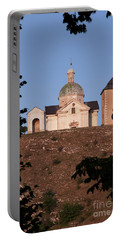 Portable Battery Charger featuring the photograph Belfry And Chapel Of Saint Sebastian by Michal Boubin