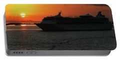 Belize Sunset Portable Battery Charger