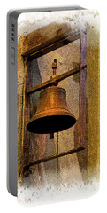 Bell In The Old Cathedral Of Cuenca, Ecuador Portable Battery Charger