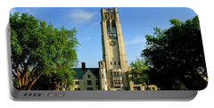 Bell Tower At The University Of Toledo Portable Battery Charger