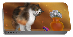 Bella The House Cat Portable Battery Charger