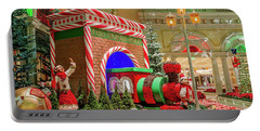 Bellagio Christmas Train Decorations And Ornaments Portable Battery Charger