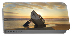 Portable Battery Charger featuring the photograph Belle At Sunrise by Barbara Ann Bell
