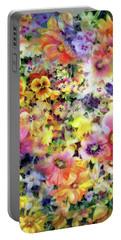 Belle Fleurs I Portable Battery Charger