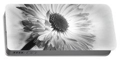 Bellis In Mono  #flower #flowers Portable Battery Charger