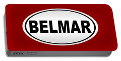 Portable Battery Charger featuring the photograph Belmar New Jersey Home Pride by Keith Webber Jr
