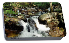 Portable Battery Charger featuring the photograph Below Anna Ruby Falls by Jerry Battle