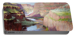 Below Palouse Falls Portable Battery Charger