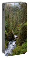Below The Falls Portable Battery Charger by David Andersen