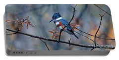 Belted Kingfisher Perch Portable Battery Charger