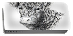 Beltie Portable Battery Charger by Sandra Moore