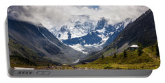 Belukha Mountain. Altay. Russia Portable Battery Charger