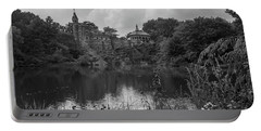 Belvedere Castle Central Park Nyc  Portable Battery Charger