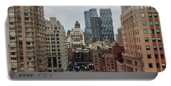 Belvedere Hotel New York City  Room With A View Portable Battery Charger