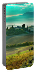 Portable Battery Charger featuring the photograph Belvedere - Tuscany II by Brian Jannsen