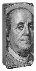 Portable Battery Charger featuring the photograph Ben Franklin by Les Cunliffe