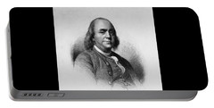 Portable Battery Charger featuring the photograph Ben Franklin by Richard W Linford
