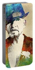 Ben Kingsley Portable Battery Charger by Mihaela Pater