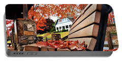 Bench Leaves Portable Battery Charger
