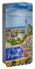 Bench Of Barcelona Portable Battery Charger